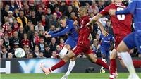 Video Liverpool 1-2 Chelsea: Hazard solo ghi bàn tuyệt đẹp, Liverpool nếm mùi thất bại