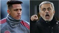 TIẾT LỘ: Mourinho công khai khiển trách Alexis Sanchez trước toàn đội rồi loại thẳng tay