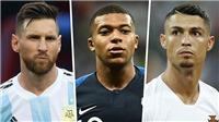 Không phải Neymar hay Griezmann, Mbappe sẽ chấm dứt kỷ nguyên Messi - Ronaldo