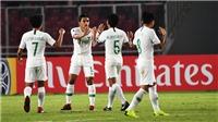 Màn rượt đuổi kinh hoàng với 11 bàn thắng ở giải U19 châu Á 2018