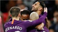 Video Tottenham 0-1 Man City: Mahrez tỏa sáng, 'Man xanh' trở lại ngôi đầu