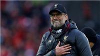 Juergen Klopp: 'Liverpool may mắn, nhưng hoàn toàn xứng đáng với ngôi đầu'
