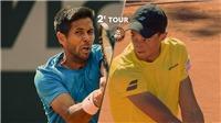 Tay vợt gốc Việt Antoine Hoang tiếp tục tạo địa chấn ở Roland Garros 2019