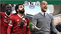 Cuộc đua vô địch Ngoại hạng Anh: Cờ trong tay Man City, Liverpool phải thắng và cầu nguyện