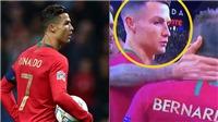Ronaldo lườm nguýt Bernardo Silva khi hụt giải Cầu thủ xuất sắc nhất UEFA Nations League