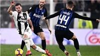 Xem trực tiếp bóng đá Juventus vs Inter Milan (18h30 ngày 24/7)