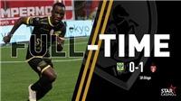 Sint Truiden 0-1 Mouscron: Công Phượng chưa thể ra mắt, Sint Truidense nếm trái đắng