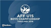 Trực tiếp bóng đá: U15 Việt Nam đấu với U15 Philippines (18h00 hôm nay), U15 Đông Nam Á