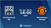 VIDEO Kristiansund 0-1 MU: Mata tỏa sáng phút bù giờ, Quỷ đỏ thắng nhọc nhằn