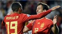 Tây Ban Nha 4-0 Đảo Faroe: Tây Ban Nha tiếp tục phô diễn sức mạnh