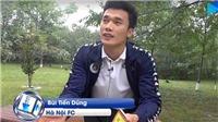 VIDEO: Thủ môn Bùi Tiến Dũng thư thái trước trận quyết đấu với 4.25 SC