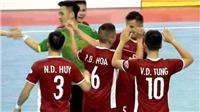 Kết quả bóng đá: Futsal Việt Nam vs Malaysia (19h00 hôm nay). Kết quả VTC3, BĐTV