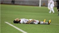 Quang Hải chấn thương, có nguy cơ nghỉ trận gặp U22 Thái Lan