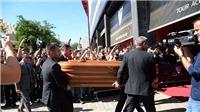 Xúc động khoảnh khắc tiễn đưa cựu danh thủ Antonio Reyes