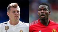 CHUYỂN NHƯỢNG MU 4/1: MU họp khẩn bàn chuyển nhượng. Real Madrid gạ đổi Toni Kroos lấy Pogba