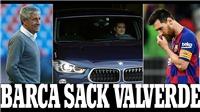 NÓNG: Barca chính thức sa thải Valverde, bổ nhiệm HLV vô danh