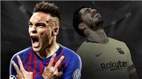 Bóng đá hôm nay 24/3: MU rộng cửa chiêu mộ Umtiti. Barcelona nhắm Lautaro Martinez thay Luis Suarez