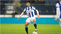 Văn Hậu chấn thương trong trận thắng 9-1 của đội trẻ Heerenveen