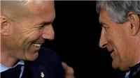 ĐIỂM NHẤN Real Madrid 2-0 Barcelona: Zidane trên tầm Quique Setien. Cuộc đua vô địch còn rộng mở