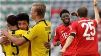 Bundesliga vòng 29: Bayern bứt phá, Dortmund hụt hơi, chỉ còn đua Top 4