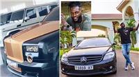Adebayor khoe bộ sưu tập siêu xe sau khi từ chối quyên góp chống Covid-19