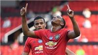VIDEO bàn thắng MU 3-0 Sheffield: Martial lập hat-trick, Quỷ đỏ lại áp sát Top 4