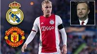 Tin bóng đá MU 7/6: MU tranh mua Van de Beek với Real Madrid. Greenwood mặc áo số 7