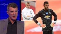 Roy Keane: 'Muốn cạnh tranh danh hiệu, MU phải bán gấp De Gea'
