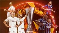 Link xem trực tiếp bóng đá. Sevilla vs Inter. Xem trực tiếp bóng đá cúp C2 châu Âu