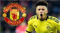 Chuyển nhượng MU 23/8: MUsẽ  muaSancho vào hè 2021, có cơ hội chiêu mộ Moussa Dembele