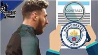 TIẾT LỘ: Messi sẽ nhận tới 750 triệu euro nếu tới Man City