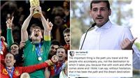 Tượng đài Iker Casillas chính thức giải nghệ ở tuổi 39