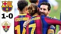 Barcelona 1-0 Elche: Griezmann tỏa sáng, Messi tịt ngòi, Koeman có danh hiệu đầu tiên