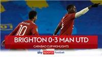 Video clip bàn thắng Brighton vs MU