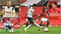 ĐIỂM NHẤN MU 1-6 Tottenham: Hàng thủ MU thảm họa, là mồi ngon cho song sát Son – Kane