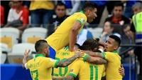 Link xem trực tiếp bóng đá. Brazil vs Venezuela. Trực tiếp vòng loại World Cup khu vực Nam Mỹ.