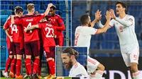 Video clip bàn thắng trận Thụy Sĩ vs Tây Ban Nha