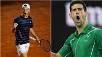 Link xem trực tiếp tennis Djokovic vs Schwartzman. Trực tiếp ATP Finals 2020