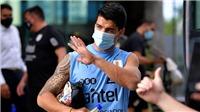 Luis Suarez nhiễm Covid-19, lỡ hẹn đại chiến với Brazil và Barcelona