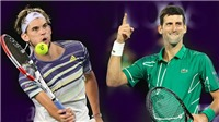 Video clip highlights Thiem vs Djokovic. Kết quả ATP Finals 2020