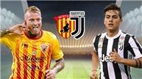 Link trực tiếp Benevento vs Juventus. Xem trực tiếp bóng đá Serie A vòng 9