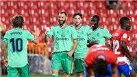 Video clip bàn thắng trận Real Madrid vs Granada