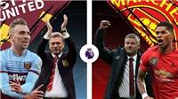 Cập nhật trực tiếp bóng đá Anh: Man City vs Fulham, West Ham vs MU, Chelsea vs Leeds
