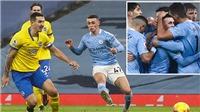 Bảng xếp hạng Ngoại hạng Anh vòng 18: Man City vào top 3, đe dọa vượt Liverpool và MU