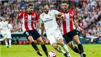 Video clip bàn thắng trận Real Madrid vs Athletic Bilbao