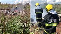 Máy bay rơi, 4 cầu thủ Brazil và chủ tịch CLB tử nạn