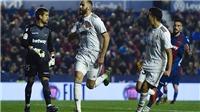 Link xem trực tiếp Real Madrid vs Levante. BĐTV trực tiếp bóng đá Tây Ban Nha La Liga