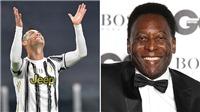 Ronaldo vượt mặt Vua bóng đá Pele, sắp lập kỷ lục vĩ đại