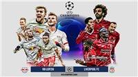 Link xem trực tiếp Leipzig vs Liverpool. K+PC trực tiếp bóng đá Cúp C1 châu Âu