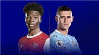 Link xem trực tiếp Arsenal vs Man City. K+, K+PM trực tiếp Ngoại hạng Anh